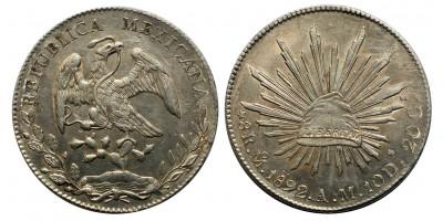 Mexikó 8 real 1822 A.M.