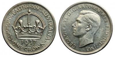Ausztrália crown 1937