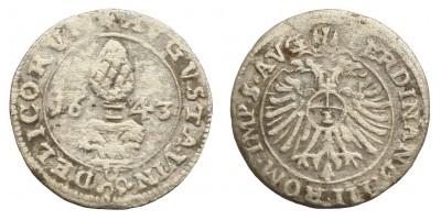 Németország Augsburg 1 krajcár 1643