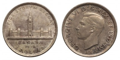 Kanada dollár 1939