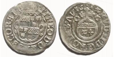 Németország Corvey apátság 1/24 tallér 1612 Höxter