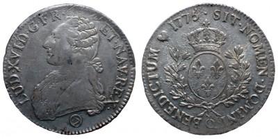 Franciaország Ecu 1775 Perpignan
