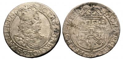 Lengyelország II. János Kázmér ort 1658 Krakkó