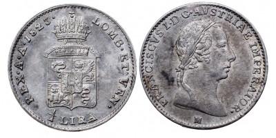 I.Ferenc 1/4 lira 1823 M