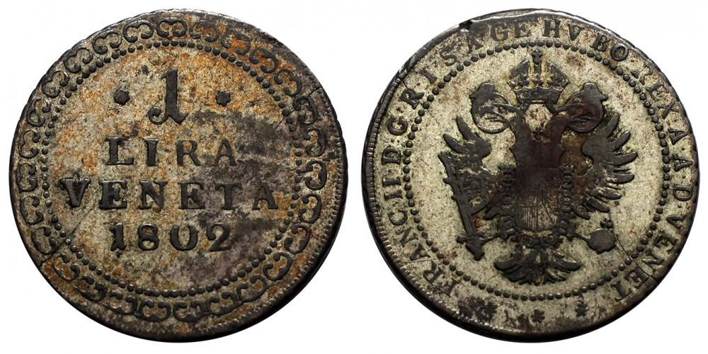 Velence 1 Lira 1802