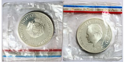 Monaco 100 francs 1974 PP