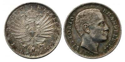 Olaszország 1 lira 1907