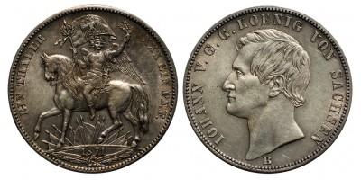 Szász Győzelmi Tallér 1871 B
