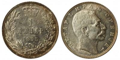 Szerbia 1 dinár 1915
