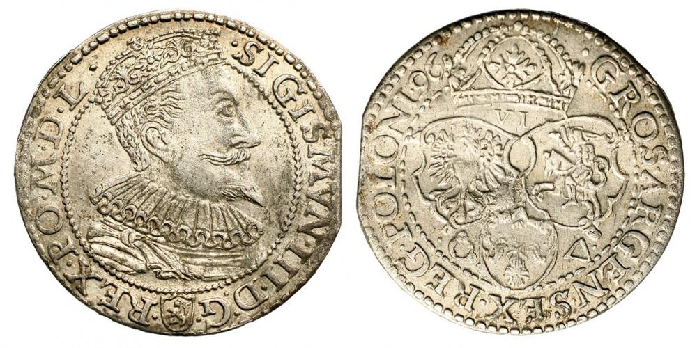 Lengyelország 6 groszy 1596