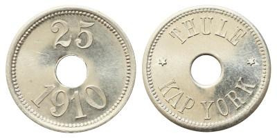 Grönland 25 Öre 1910