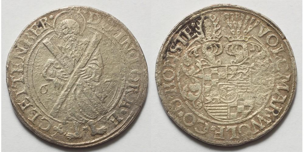 Németország Hohnstein tallér 1567 Ellrich R!