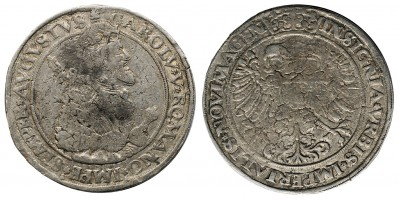 Hollandia Nijmegen tallér én. (1555) V. Károly nevében