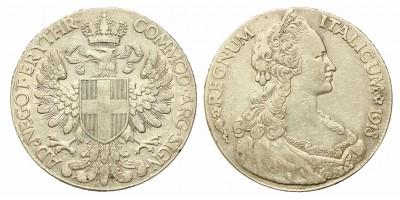 Olasz Eritrea tallér 1918 RR!