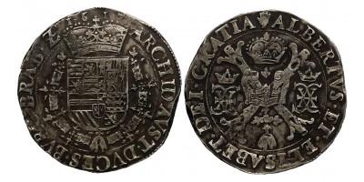 Belgium Brabant Albert és Izabella patagon 1617