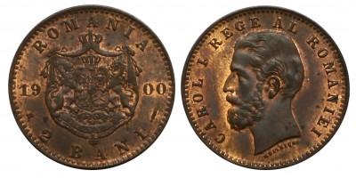 Romania 2 bani 1900