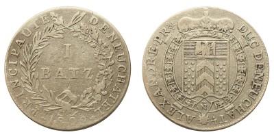 Svájc-Neuchatel 1 batz 1808