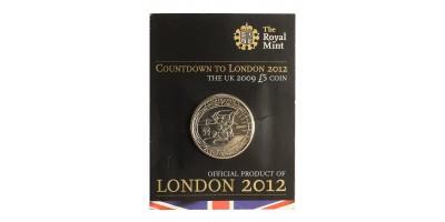 Nagy-Britannia 5 font 2009 Londoni Olimpia