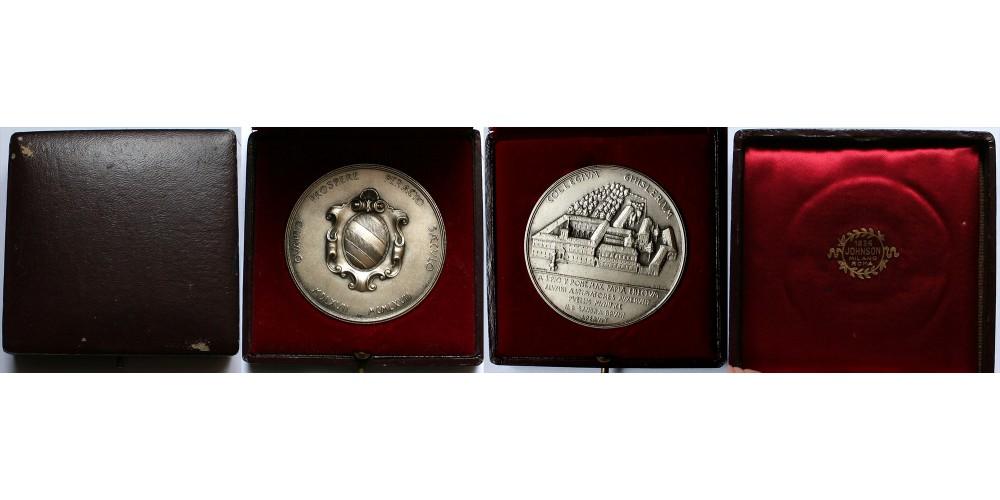 Vatikán Collegium Ghislerium 1567-1967 emlékérem