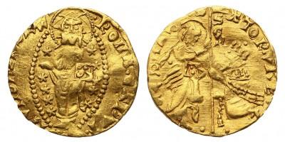 Vatikán Róma város 1350-1439 dukát R!