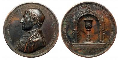 Pyrker János egri érsek 50. jubileuma 1846 emlékérem