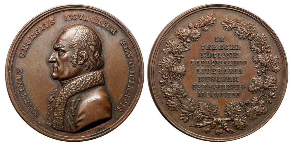 Kovachich Márton György emlékérem 1813