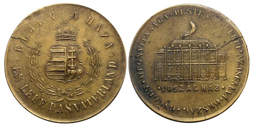 Országgyűlési emlék 1865