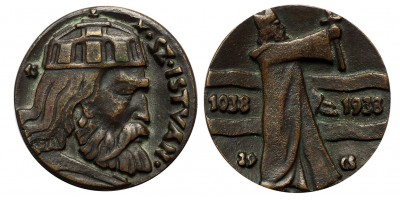 Szent István 1038-1938 emlékérem