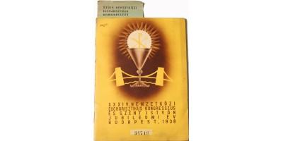 Eucharisztikus Kongresszus Budapest 1938 igazolvány füzet