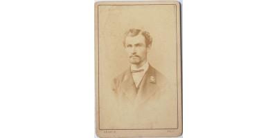 Hajóstiszt portréja, Gévay Béla 1870 körül