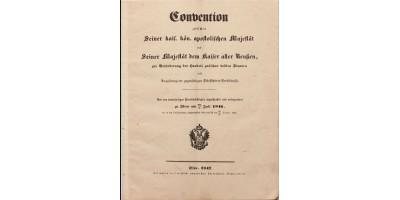 Kereskedelmi és hajózási egyezmény 1846