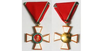 Magyar Köztársasági Érdemrend Lovagkeresztje katonai tagozat R!