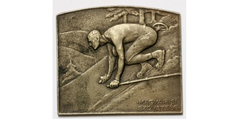 """Magyar Sí szövetség """"Lillafüred 1931 jéghockey I."""" díjérem"""