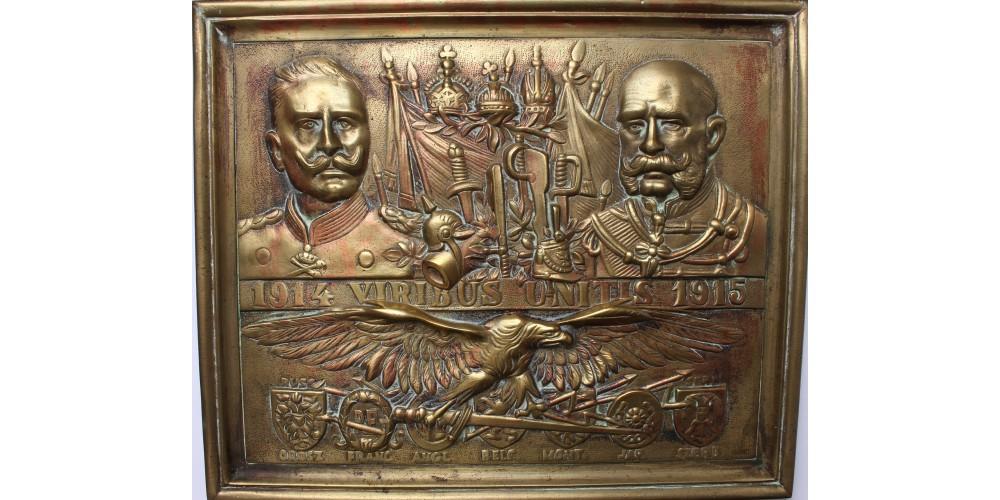 Patrióta plakett 1915 magyar változat