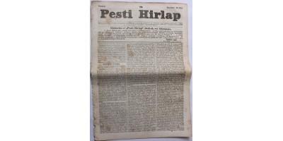 Pesti Hírlap 1841. november 13. szerkeszti: Kossuth Lajos