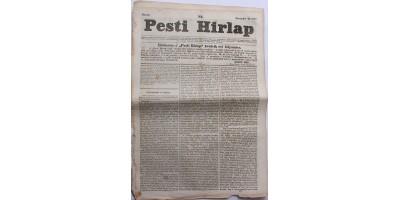 Pesti Hírlap 1841. november 24. szerkeszti: Kossuth Lajos
