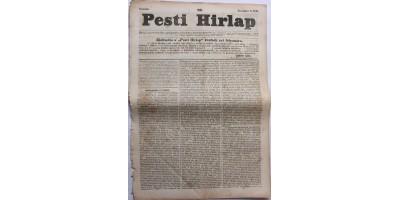 Pesti Hírlap 1841. november 6. szerkeszti: Kossuth Lajos