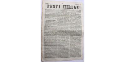 Pesti Hírlap 1843. március 19. szerkeszti: Kossuth Lajos