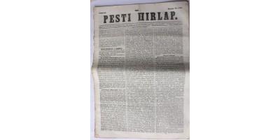 Pesti Hírlap 1843. március 23. szerkeszti: Kossuth Lajos