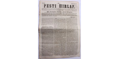 Pesti Hírlap 1843. március 26. szerkeszti: Kossuth Lajos