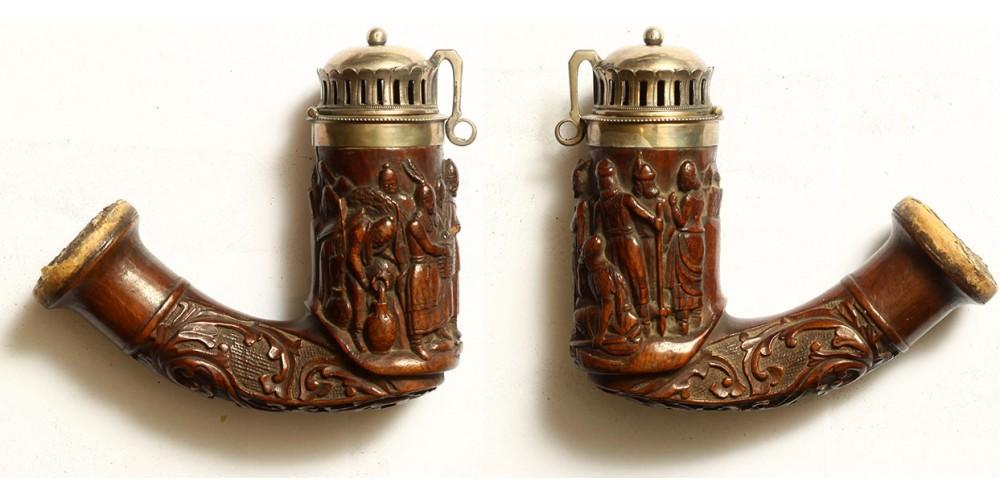 Millenniumi emlék pipa a vérszerződéssel 1896