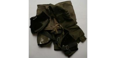Wehrmacht Afrikakorps porszemüveg 4 darabos készlet