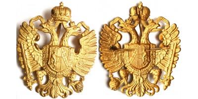 Osztrák-Magyar Monarchia csákó címer - sas