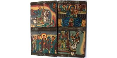 Etióp kopt ikon 20. század