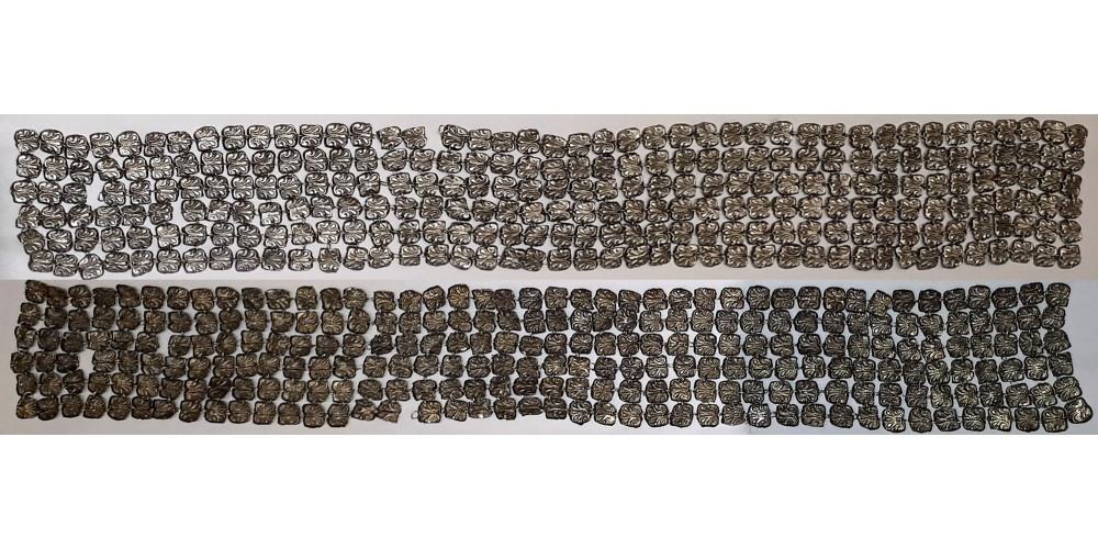Judaika ezüst tálit dísz atara 1900 körül