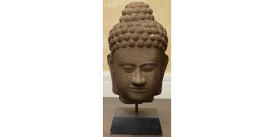 Kambodzsa khmer Buddha fej 1900 körül