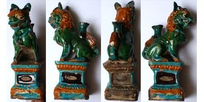 Kína Ming dinasztia 1368-1644 mázas fo oroszlán