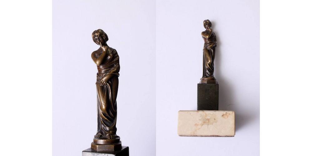 Neoklasszicista bronz szobor 1930-as évek
