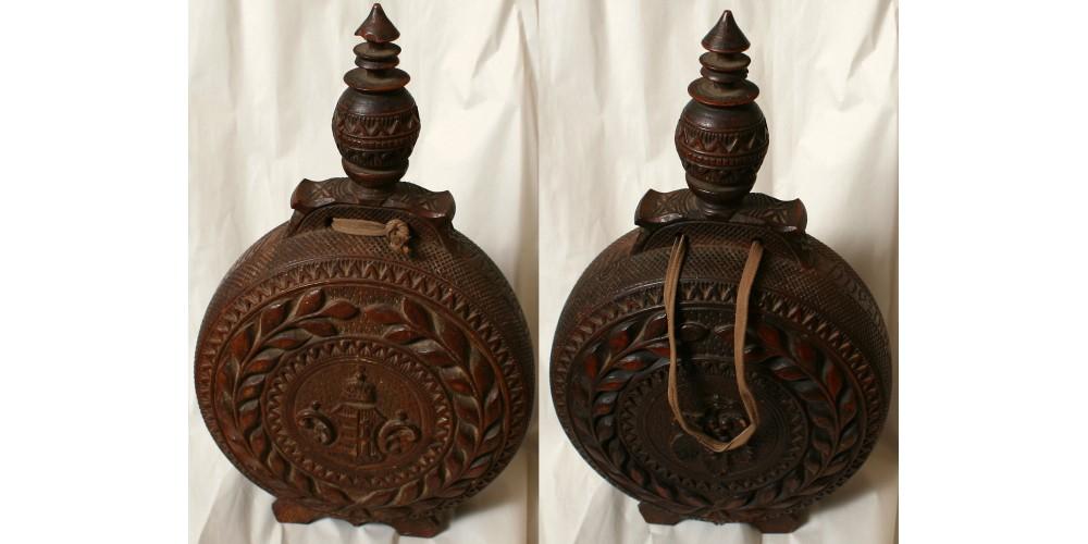 Patrióta dísz kulacs 19. század
