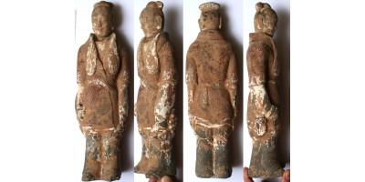Kína Wei dinasztia 386-534 festett sírfigura